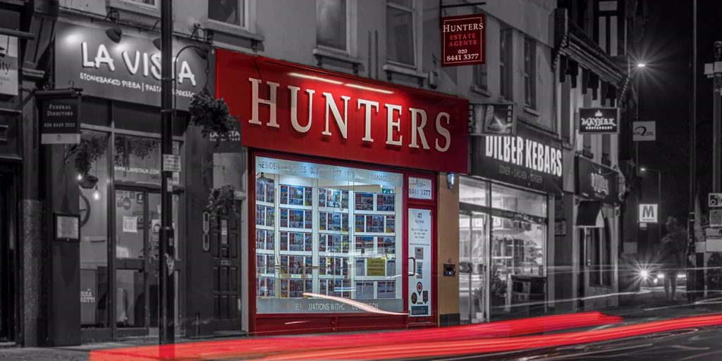 Hunters Estate Agents - home - About